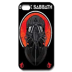 Band Poster Black Sabbath Hard Plastic phone Case Cover For Iphone 4 4S case cover ART158480