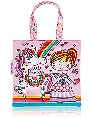 Rachel Ellen REMINTO16 Little Princess And Unicorn Mini Tote Bag
