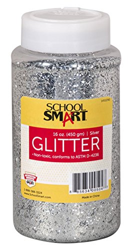 School Specialty School Smart Non-Toxic Craft Glitter, Si...