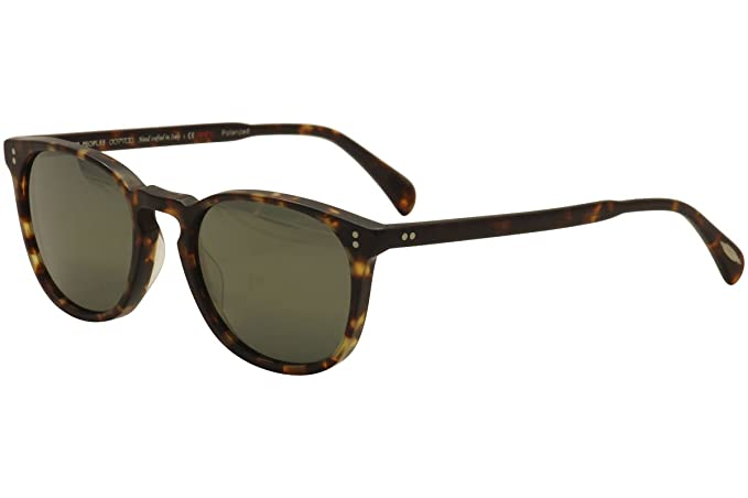b8caed7d3de2 Oliver Peoples 5298SU 1454O9 Tortoise Finley Esq. Sun Round Sunglasses  Polarise  Amazon.co.uk  Clothing