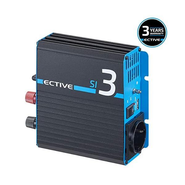 51INuzL9%2BHL ECTIVE 300W 12V zu 230V Sinus-Wechselrichter SI 3 mit reiner Sinuswelle in 7 Varianten