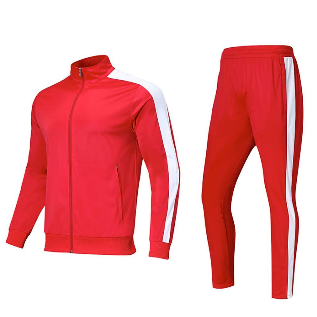 Lilongjiao Laufen Sport Anzug Herren Fitness Kleidung Zweiteilige Lose Fitness Beiläufiges langärmliges Hemd Fitness Lose Kleidung Lässige Sportswear d2b385