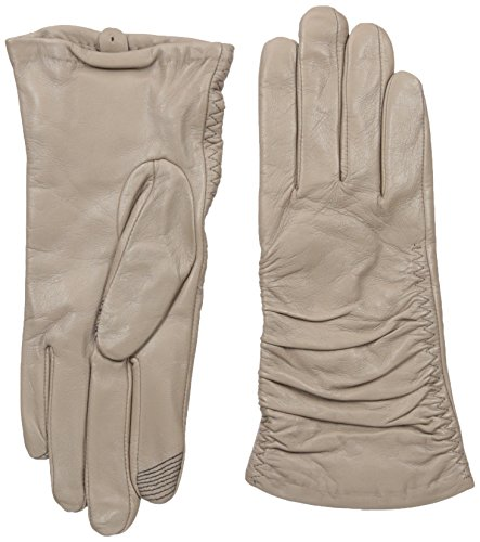 Adrienne Vittadini Women's Supple Leather Touchscreen Gloves