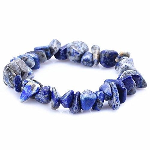 crystal chip bracelet - 1