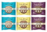 Munk Pack - Variety Pack - Protein Cookie - 6 Pack - 18g Protein, Vegan, Gluten-Free, Soft Baked - 2.96oz (Variety Pack)