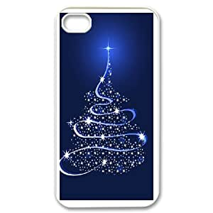 DIY Merry Christmas Theme Phone Case Fit To iPhone 4,4S , A Good Gift To Your Family And Friends