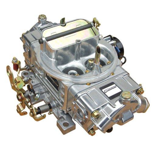 (Proform 67254 Street Upgrade Series 600 CFM Polished Aluminum Dual Inlet 4-Barrel Square Bore Mechanical Secondary Carburetor with Electric Choke)