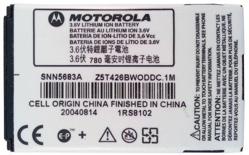 Motorola SNN5683A 860 mAh Battery for Motorola A728 / A760 / A768i / E680 / E680i / V300 / V303 / V500 / V505 by Motorola OEM Replacement Product