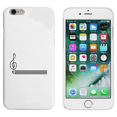 Blanc 'Coin Musical' étui / housse pour iPhone 6 & 6s (MC00043714)