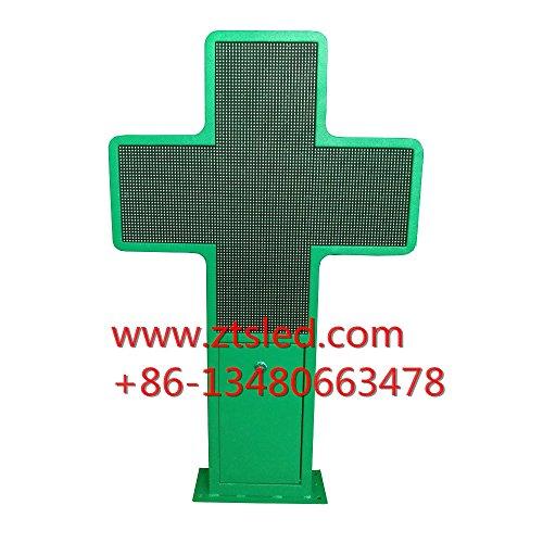 farmacia Led pantalla de visualización cruzada de la farmacia p6 exterior a todo color 576x576mm 21'X21 'pantalla de...