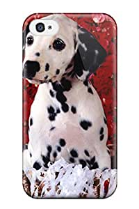 Durable Protector Case Cover With Dalmatian Hot Design For Iphone 4/4s