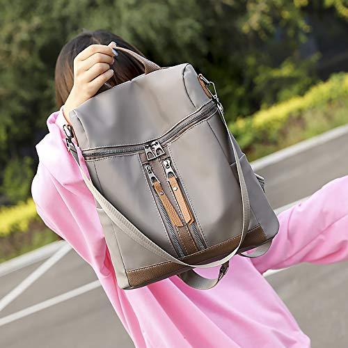Sacs Muium Voyage Pour University Casual À Femmes Élégant Bag Étanche Dos Sac Grand Bandoulière Persimmon Cartable wUUIqRr