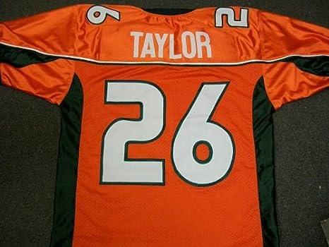 buy online 3eec1 2b23d Amazon.com : Sports Memorabilia Sean Taylor Miami Hurricanes ...