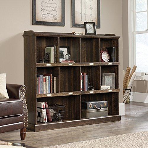 Collection Barrister Bookcase - Sauder 422717 Barrister Lane Bookcase, Iron Oak Finish