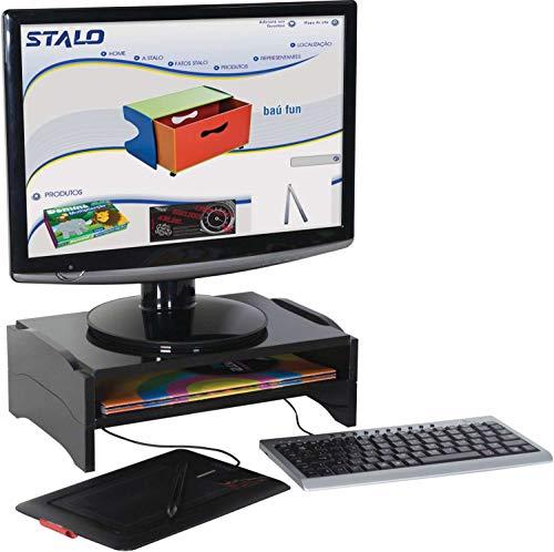 Suporte Monitor Modular, Stalo, Preto