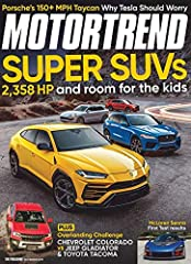 Motor Trend is the world's automotive authority. Every issue of Motor Trend informs and entertains with features on the testing of both domestic and import cars, car care, motor sports coverage, sneak peeks at future vehicles, and auto-indust...