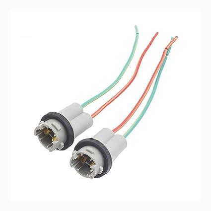 T10 W5W - Adaptador de enchufe duro para bombillas LED de ...