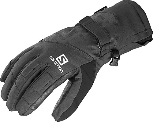 Salomon Men's Propeller GTX Gloves, Black, Large