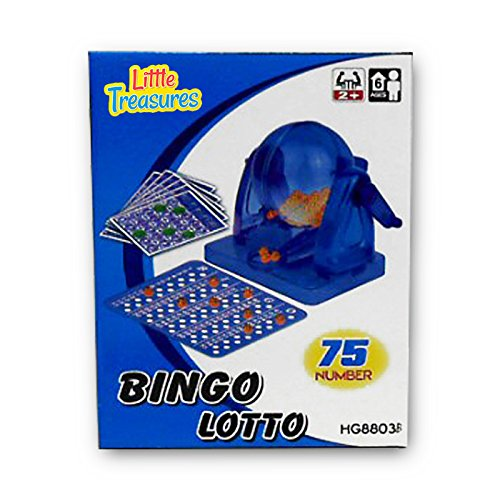 - Bingo Game an Educational 75 Number Bingo Set Lottery Party Game (2 to 10 players ? Ages 6 +)