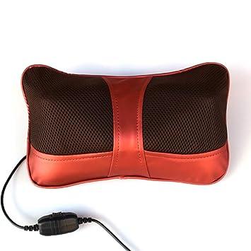 Amazon.com: LoMe - Almohada de masaje eléctrica, masajeador ...