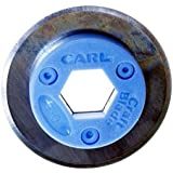 Carl G-01 Replacement Straight Cut Rotary Blade 2-Pack, for RT-200N / RT-215N, DC210, 220, and 238 Trimmers