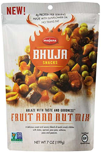 x, 7-Ounce Bags (Pack of 6) (Bhuja Fruit Mix)