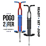 New Bounce Soft, Easy Grip Pro Sport Pogo Stick- 2 Pack Combo set