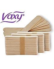 Espátulas de cera de madera desechables para aplicación profesional de cera, 500 unidades
