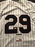 Autographed/Signed Rod Carew Minnesota Twins Pinstripe Baseball Jersey PSA/DNA COA