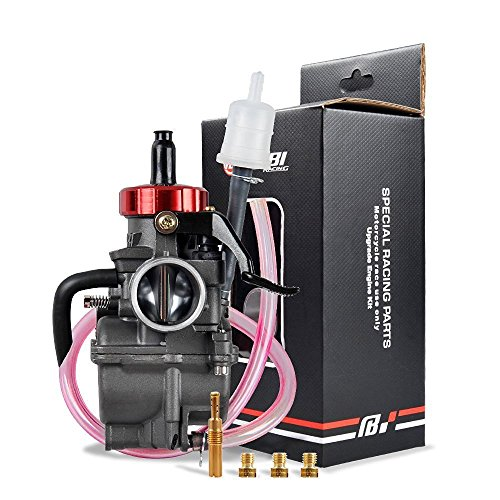 NIBBI RACING PARTS Replacement Orginal High Performance Speed Modified Carburetor PE26MM Fit Motorcycle Scooter Atv Dirt bike 100CC-150CC Honda Yamaha Suzuki Kawasaki CG GY6 Engine