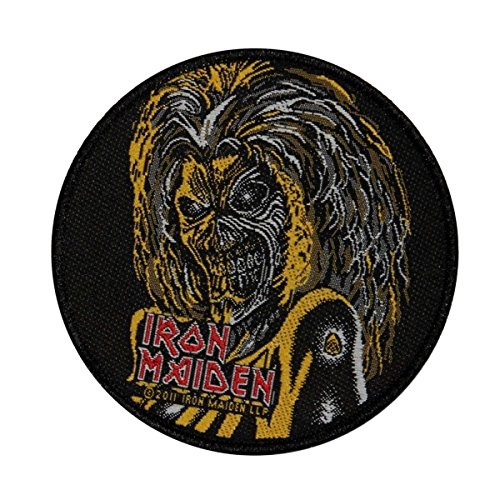 Iron Maiden Classic Eddie the Head Patch Mascot Logo Metal Woven Sew On Applique by Mia_you