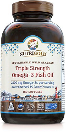 Nutrigold-Triple-Strength-Omega-3-Fish-Oil-Supplement-2100-mg-180-Softgels