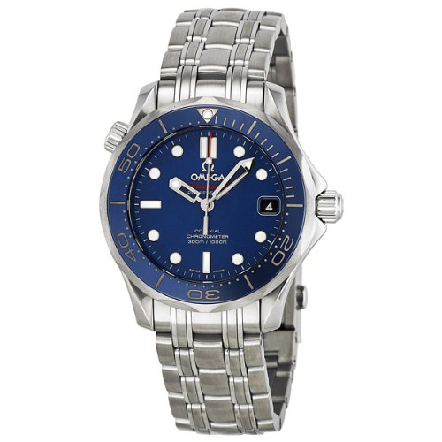 Omega Men's 21230362003001 Seamaster300 Analog Display Swiss Automatic Silver (Omega Watch)