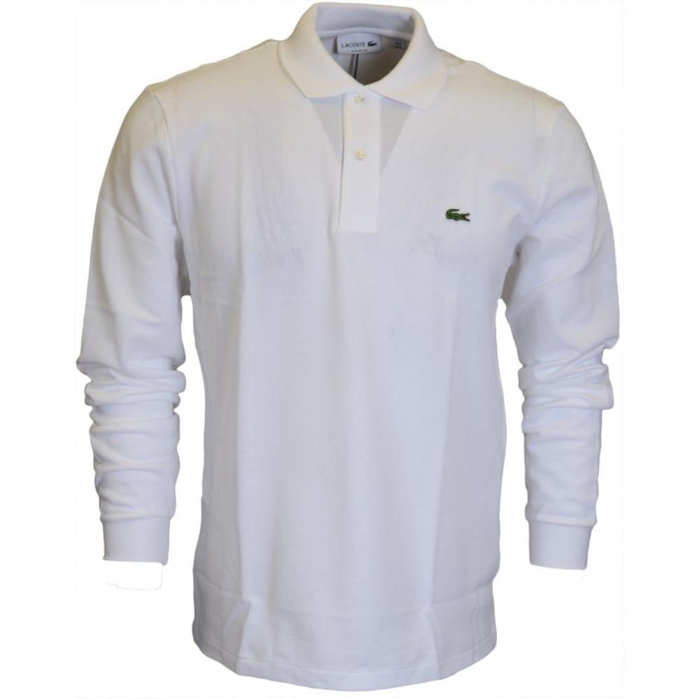 Lacoste Men's Poloshirt Medium White