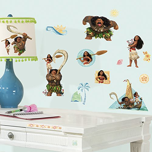 RoomMates RMK3382SCS Disney Moana Peel and Stick Wall Decals by RoomMates