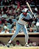 """Cecil Cooper Milwaukee Brewers MLB Action Photo (Size: 8"""" x 10"""")"""
