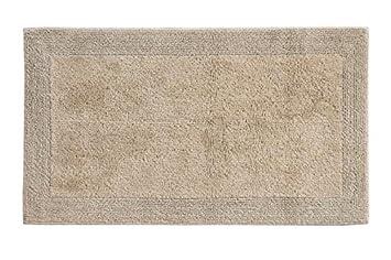 Grund Certified 100% Organic Cotton Reversible Bath Mat, Puro Series,  17 Inch