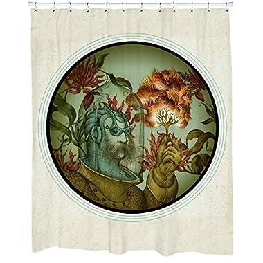 Sharp Shirter Caliope Shower Curtain