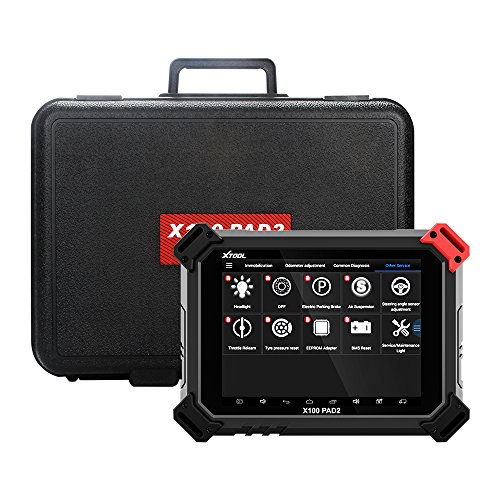 (XTOOL X100 PAD2 OBDII Diagnostic Tool Full System Auto Key Programmer Free Update Car Key IMMO ABS/SRS/EPB/Oil Reset/SAS/DPF)