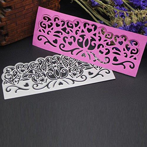 I Kingko/® Cutting Dies Cut Dies Stencil Metal Template Mould for DIY Scrapbook Album Paper Card