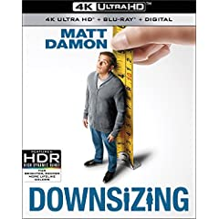 DOWNSIZING arrives on 4K Ultra HD, Blu-ray, DVD and Digital March 20 from Paramount