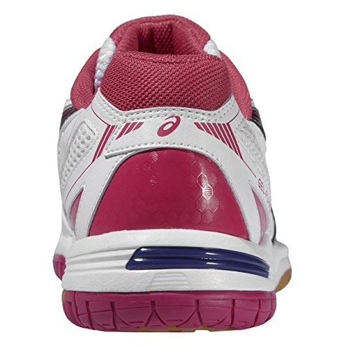 5 Flare 0190 Gel Asics WHITE Damen Volleyballschuhe PINK W BLACK tq6RRT