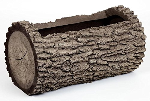 REAL Planters H-2 Horizontal Log Planter, Medium, Oak ()