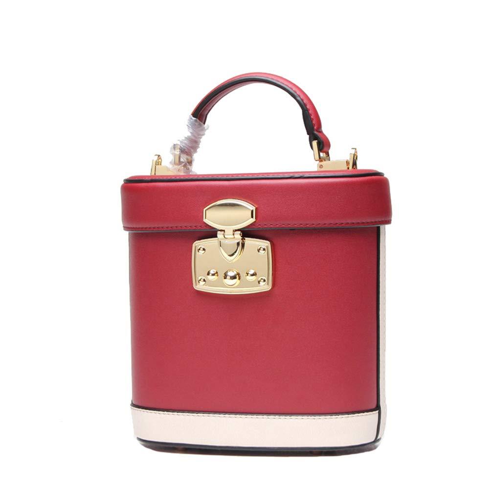 Yhjklm Handtasche Damen Vintage Leder Handtaschen Persönlichkeit