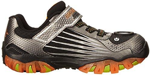 Little Sneaker Kid Kids 2 Skechers Lightz Street Orange 90561L 2 Kids US M 0 Gunmetal gWpfqAOn