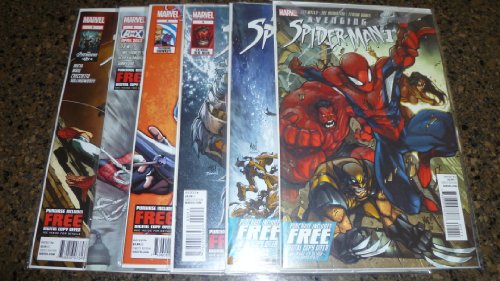 Marvel Comics AVENGING SPIDER-MAN Issues #1-6 First Prints