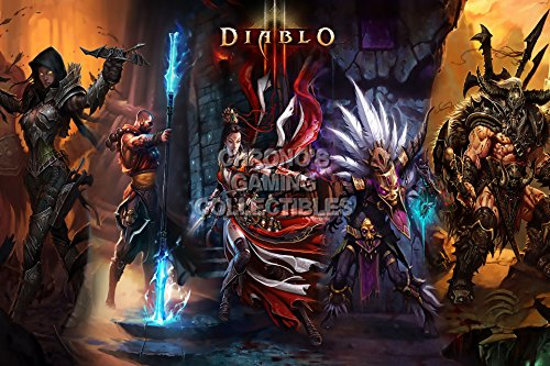 Diablo CGC Huge Poster Glossy Finish III PS3 PS4 Xbox 360 ONE - DIA003 (24