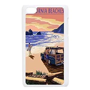 Winfors California Phone Case For Ipod Touch 4 [Pattern-3]