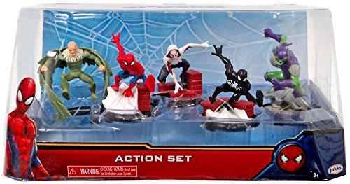 Disney Marvel's Spider-Man 5 Pack Figure Set