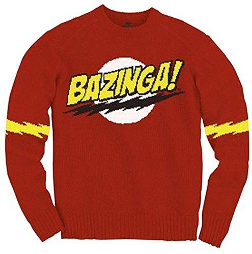 Bazinga! -- The Big Bang Theory Adult Knit Sweater, X-Large
